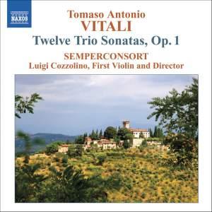 Vitali, T: Trio Sonatas, Op. 1 (12) Product Image
