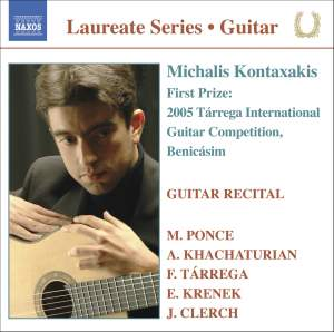 Guitar Recital: Michalis Kontaxakis
