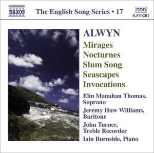 The English Song Series Volume 17 - Alwyn Product Image