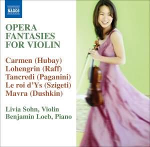 Opera Fantasies for Violin Product Image