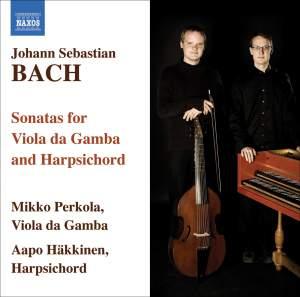 Bach: Viola da gamba sonatas Nos. 1-3 & Keyboard Sonata in A minor Product Image