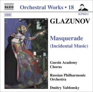 Glazunov - Orchestral Works Volume 18 Product Image