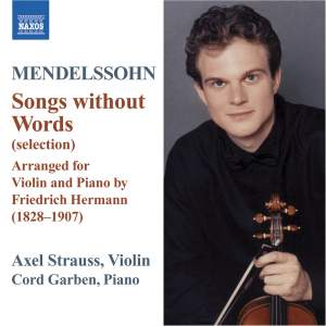 Mendelssohn: Songs Without Words Product Image