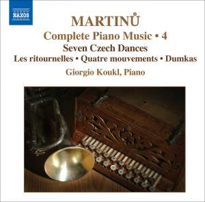 Martinu - Complete Piano Music Volume 4 Product Image