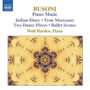 Busoni - Piano Music Volume 3 Product Image