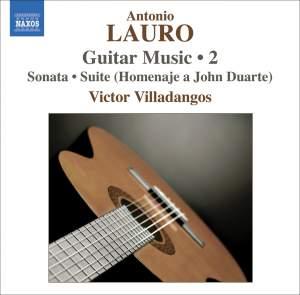 Antonio Lauro - Guitar Music Volume 2