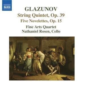 Glazunov: 5 Novelettes & String Quintet Product Image