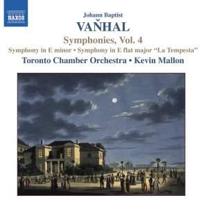 Vanhal - Symphonies, Vol 4 Product Image