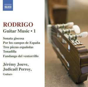 Rodrigo: Guitar Music Volume 1 Product Image