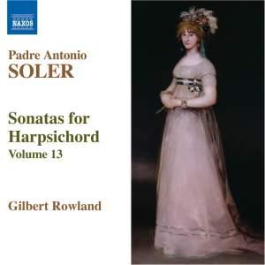 Soler - Sonatas for Harpsichord Volume 13