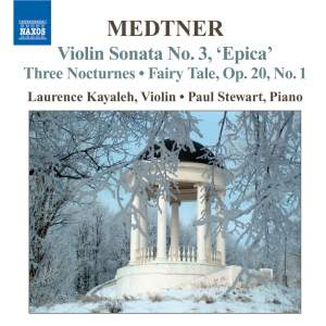 Medtner - Complete Works for Violin and Piano Volume 1 Product Image