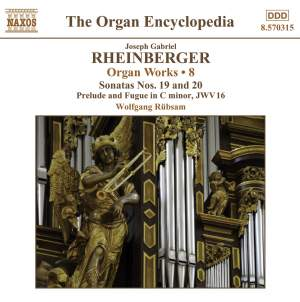 Rheinberger: Works For Organ, Vol. 8 Product Image