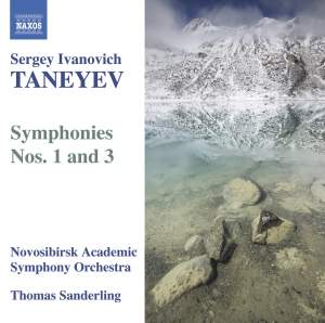 Taneyev - Symphonies Nos. 1 & 3 Product Image