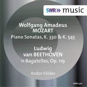 Mozart: Piano Sonatas Nos. 10 & 16 - Beethoven: 11 Bagatelles - Chopin: Tarantella