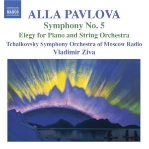 Pavlova: Symphony No. 5 & Elegy for piano and strings Product Image