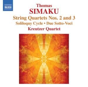 Simaku: String Quartets Nos. 2 and 3 Product Image