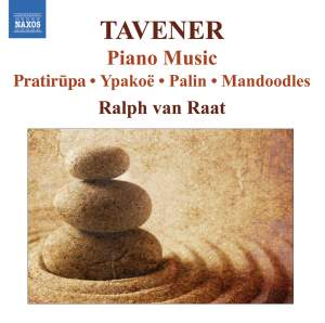 Sir John Tavener - Piano Music Product Image