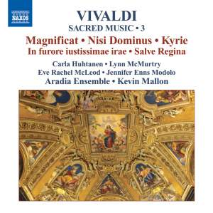 Vivaldi - Sacred Music Volume 3 Product Image