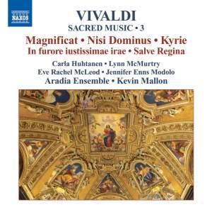 Vivaldi - Sacred Music Volume 3