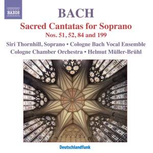 Bach - Sacred Cantatas for Soprano Product Image