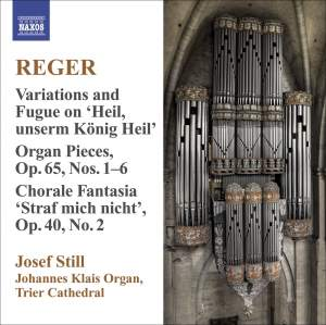 Reger - Organ Works Volume 9 Product Image