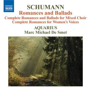 Schumann - Romances and Ballads Product Image