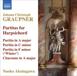 Graupner - Partitas for Harpsichord Product Image