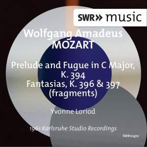 Mozart: Prelude & Fugue, K. 394 and Fantasias, K. 396 & 397