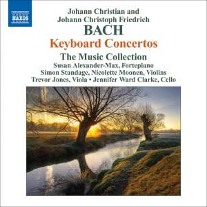 J C & J C F Bach: Keyboard Concertos Product Image