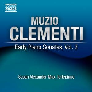 Clementi - Early Piano Sonatas Volume 3 Product Image