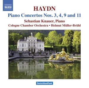 Haydn - Piano Concertos Nos. 3, 4, 9 and 11 Product Image