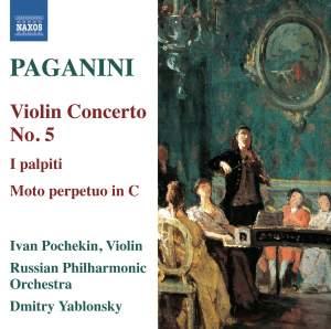 Paganini: Violin Concerto No. 5 Product Image