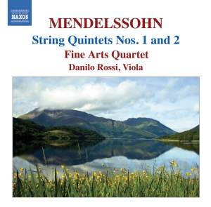 Mendelssohn - String Quintets Nos. 1 and 2 Product Image