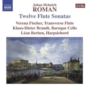 Roman: 12 Sonatas for flute and continuo Product Image