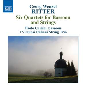 Ritter, G W: Six Quartets for Bassoon and Strings, Op. 1 Product Image