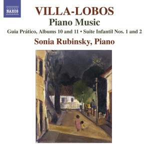 Villa-Lobos - Piano Music Volume 8 Product Image