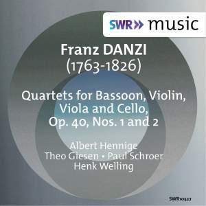 Danzi: Quartet for Bassoon, Violin, Viola & Cello, Op. 40, Nos. 1 & 2