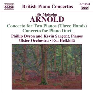 Arnold: Concerto for Two Pianos Product Image
