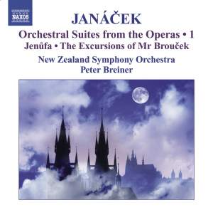 Janácek - Orchestral Suites from the Operas Volume 1 Product Image