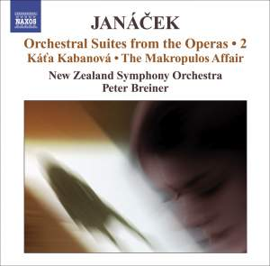 Janácek - Orchestral Suites from the Operas Volume 2 Product Image