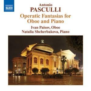 Pasculli - Operatic Fantasias for Oboe and Piano Product Image