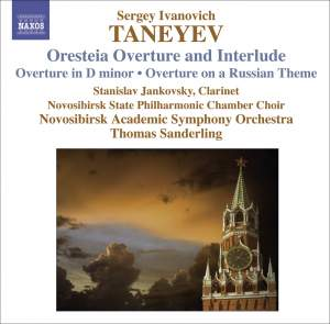 Taneyev - Orchestral Works Product Image