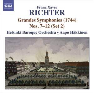Richter - Grandes Symphonies Nos. 7-12 (Set 2) Product Image
