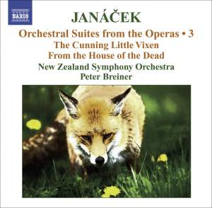 Janácek - Orchestral Suites from the Operas Volume 3 Product Image