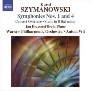 Szymanowski - Symphonies Nos. 1 & 4 Product Image