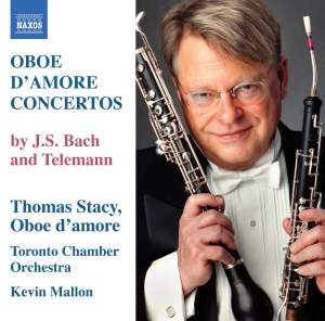 Telemann & Bach - Concertos for Oboe d'amore Product Image
