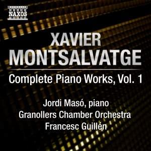 Montsalvatge: Piano Music, Volume 1 Product Image
