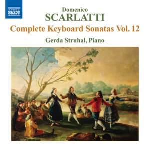 Scarlatti - Complete Keyboard Sonatas Volume 12 Product Image