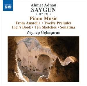 Ahmet Adnan Saygun: Piano Music Product Image
