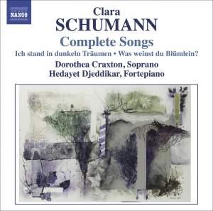 Clara Schumann - Complete Songs